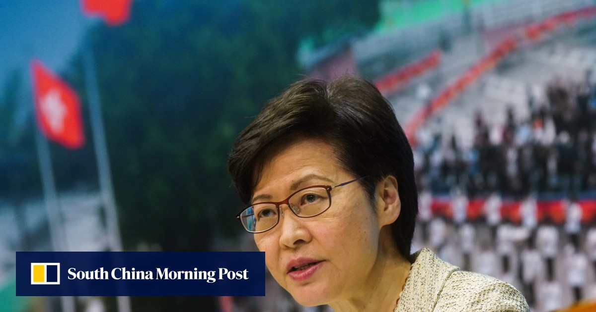 Hong Kong leader Carrie Lam has set out to improve the city's education sector, media and civil servant training after the overhaul of the electoral system
