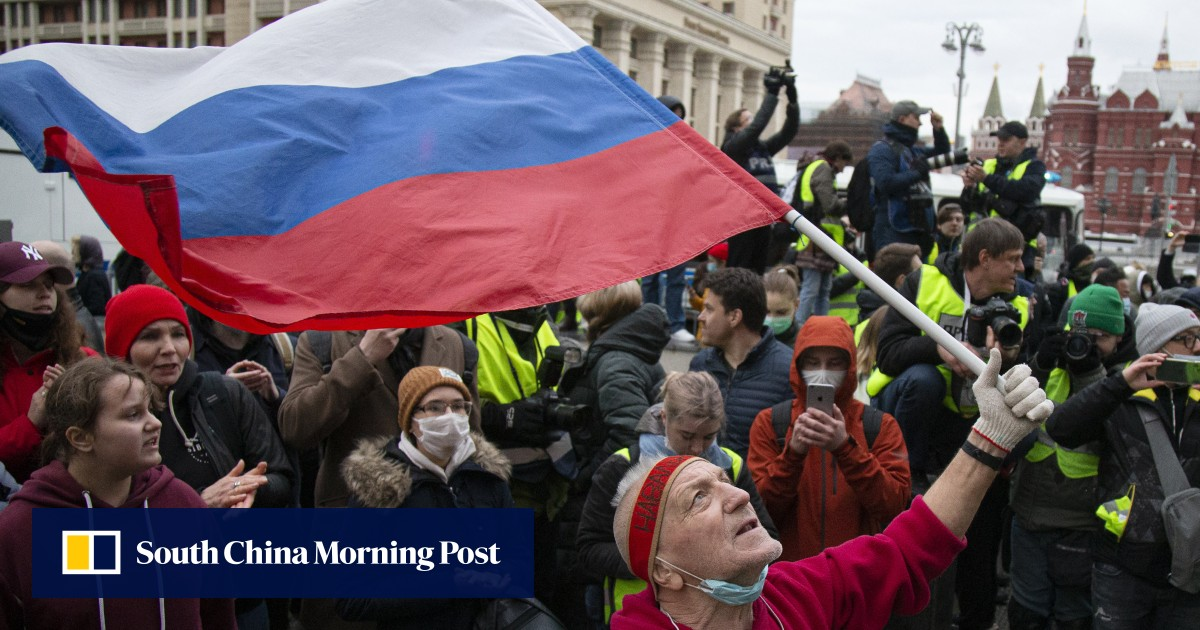 Almost 1,500 people were arrested at rallies by Alexei Navalny in Russia