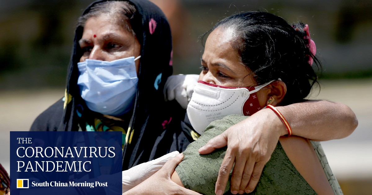 Coronavirus: Indian doctors ask for help as 117 people die every hour in the crisis