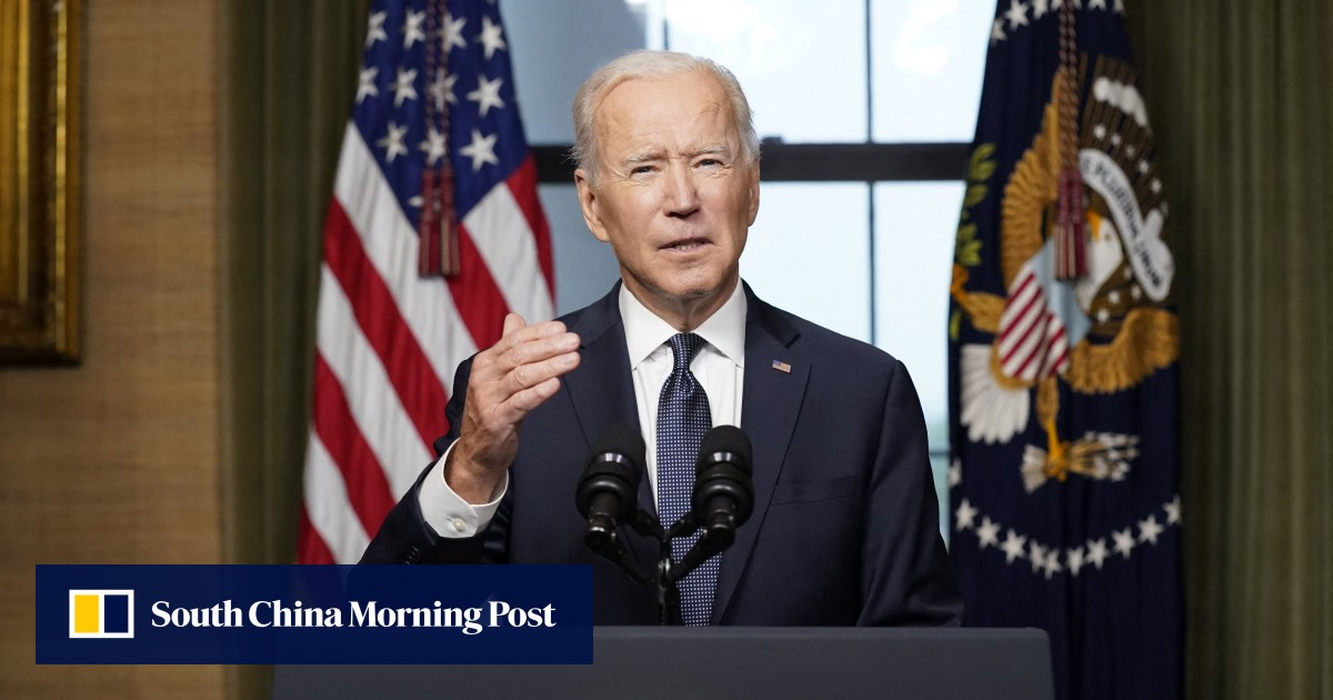 Joe Biden reveals the US withdrawal from Afghanistan in a symbolic speech