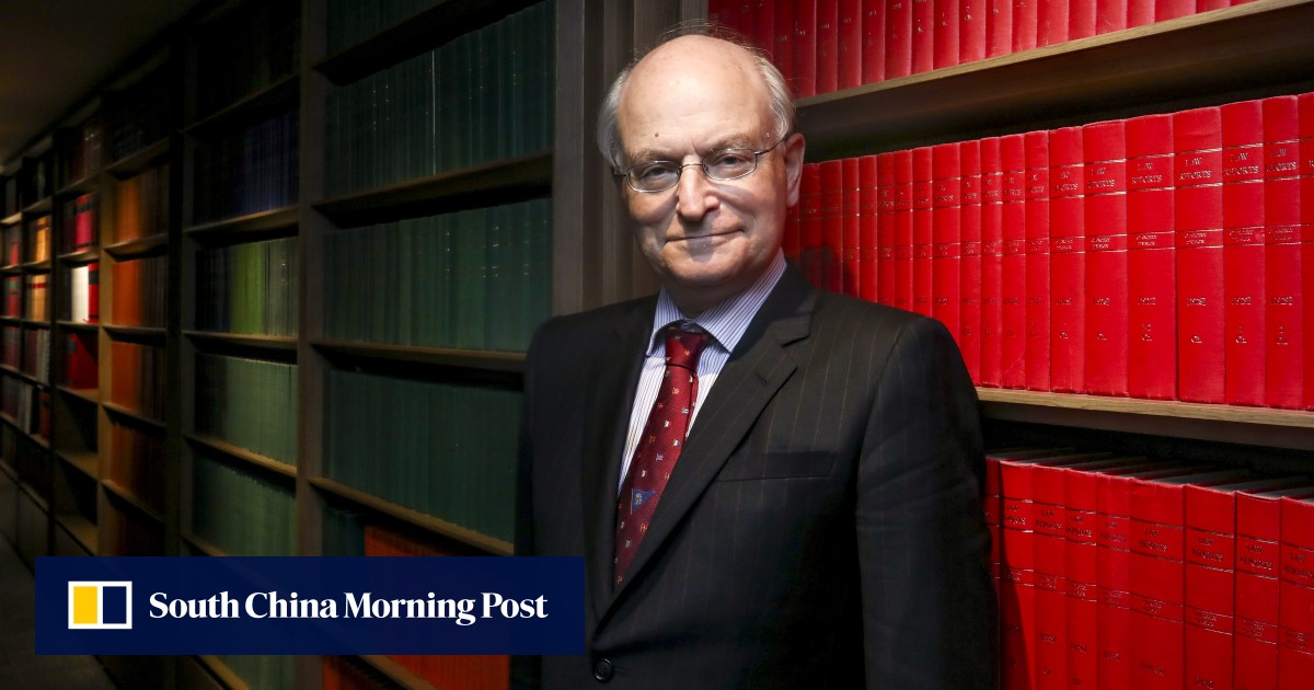 """Beijing's top office in Hong Kong attacks the head of the bar association, Paul Harris, and denounces him as an """"anti-China politician""""."""