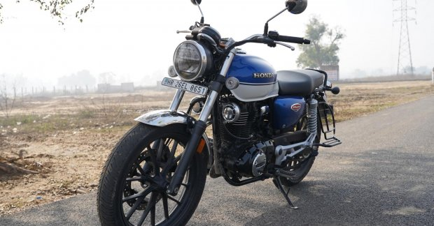 Honda H'ness CB350 will be launched in January as the Honda GB350