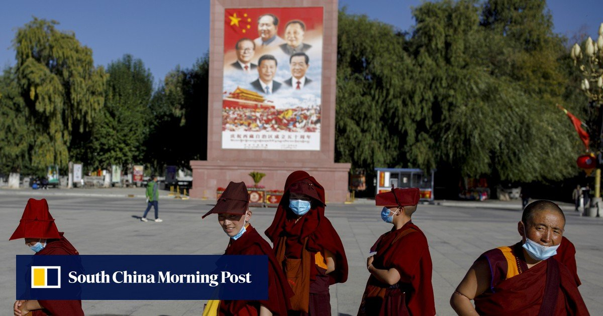 China's head of the Communist Party of Tibet targets religion and separatism