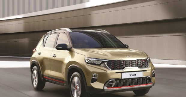 Top 5 revisions by 2021 Kia Sonet
