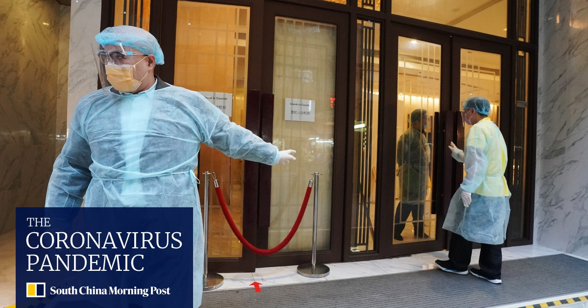 Coronavirus: In Hong Kong, hotel quarantine is mandatory for arrivals in Taiwan following the island's recent outbreak