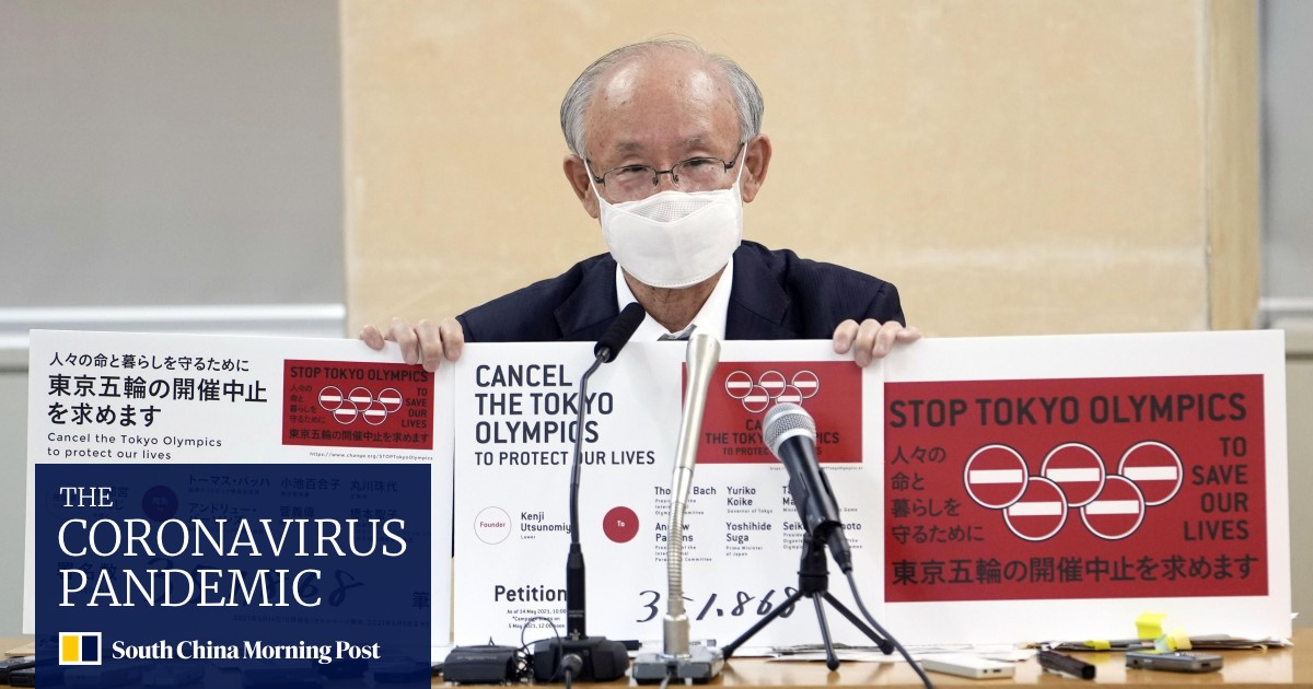 Tokyo Olympics: Petition to cancel games signed by more than 350,000 people, citing coronavirus concerns