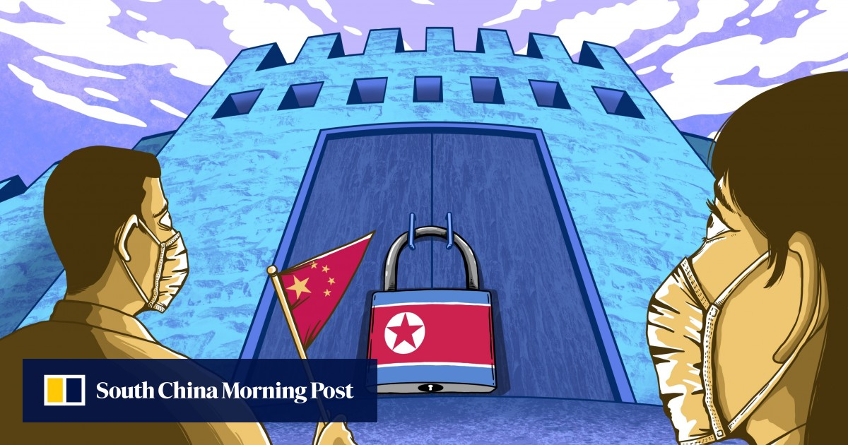 China's gateway to North Korea is cold from the closure of the Covid-19 border