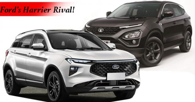 This is what Ford India's Tata Harrier rival might look like!