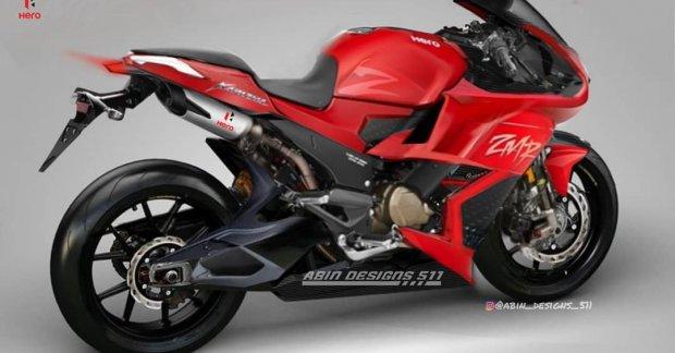 The Hero Karizma ZMR Sportbike concept looks like a worthy successor