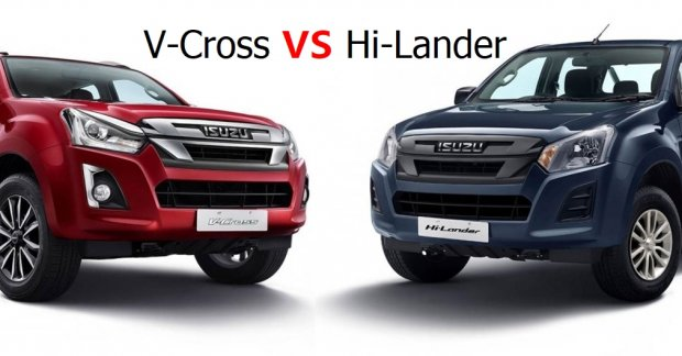 BS6 Isuzu D-Max Hi-Lander versus V-Cross – What makes them art?