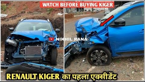 Renault Kiger First Accident Report – SHOCKING Build Quality