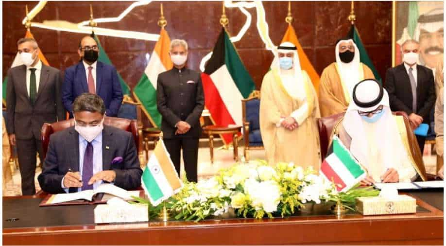 India and Kuwait sign pacts to protect Indian domestic workers' rights