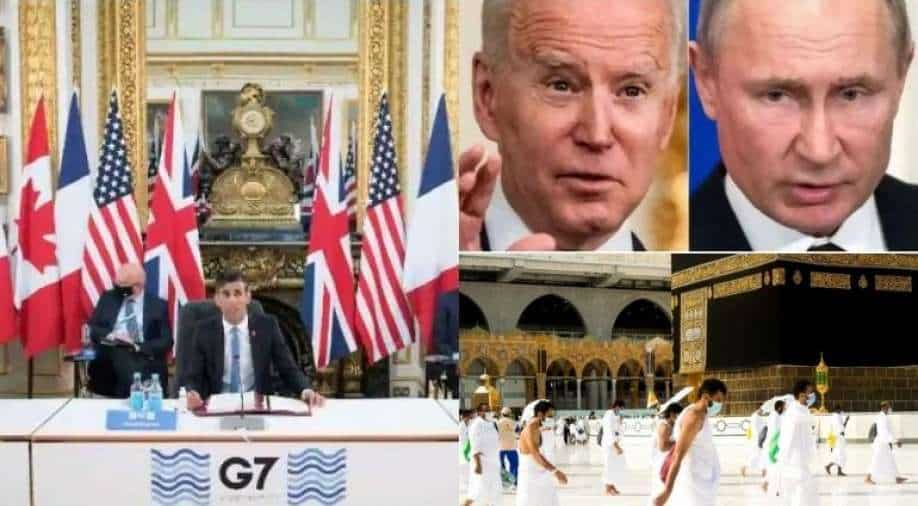 Top 10 world news: G7 counters China, USA at embassies in Afghanistan & more