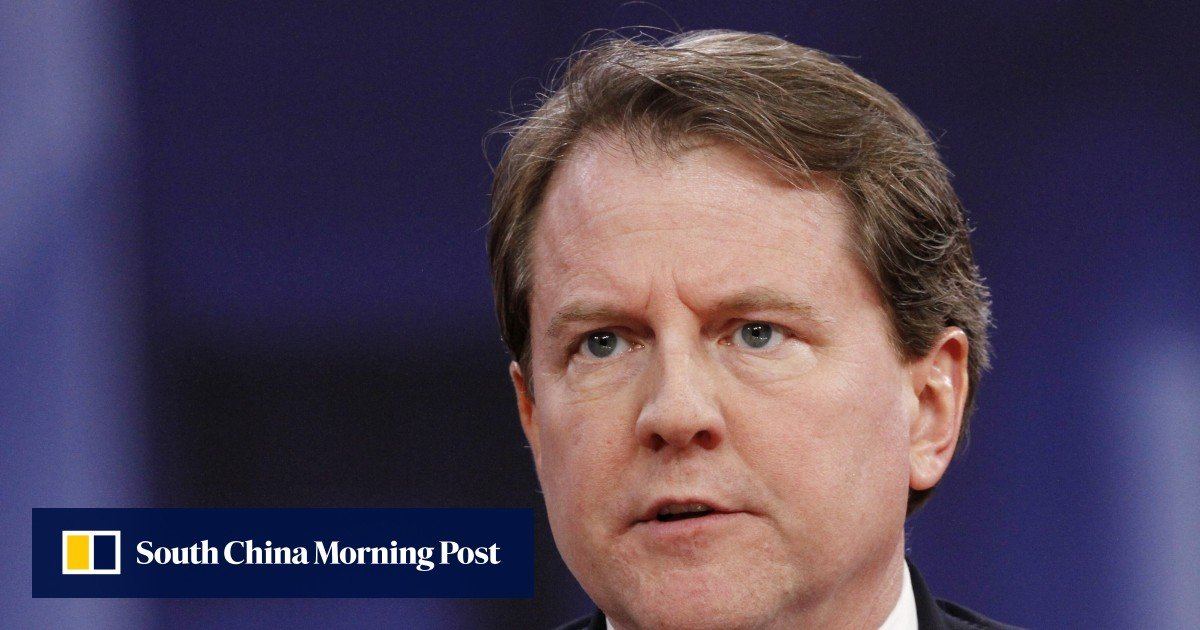 Donald Trump's former attorney Don McGahn testifies about alleged Russian interference