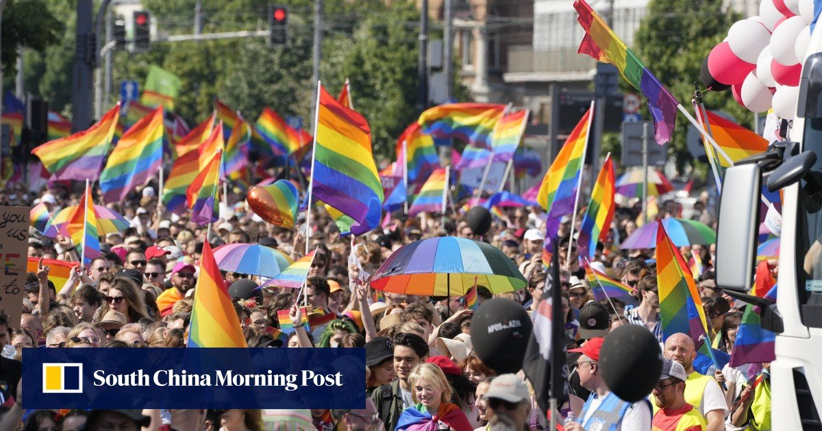 Warsaw Pride Parade returns for the first time in two years after anti-LGBTQ + backlash and coronavirus pandemic