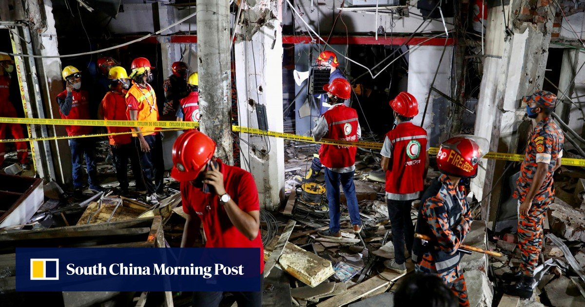 Seven dead and dozen injured in a commercial building explosion in Dhaka, Bangladesh