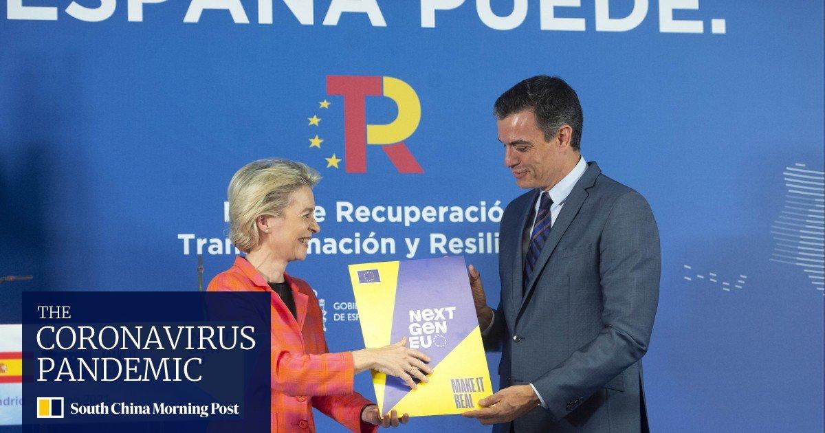 European Union president Ursula von der Leyen proves coronavirus recovery plan