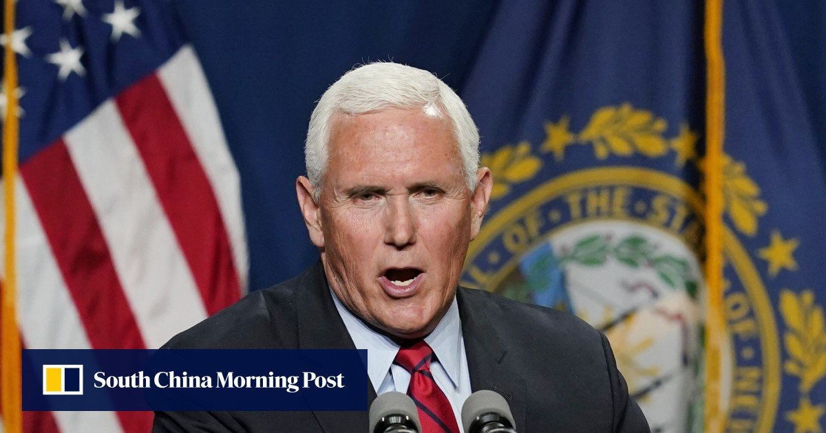 Mike Pence says he and Donald Trump were killed in the Jan.