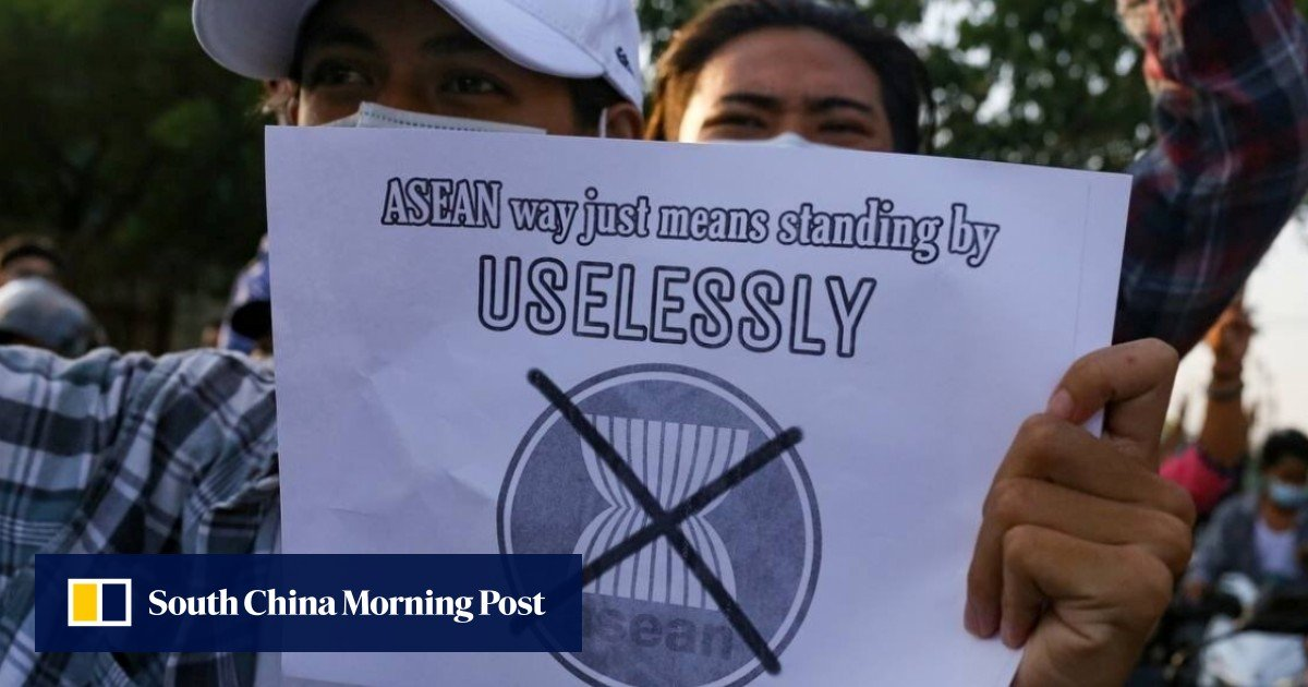 """Asean expects China to """"follow up"""" on the stalled consensus plan for Myanmar"""