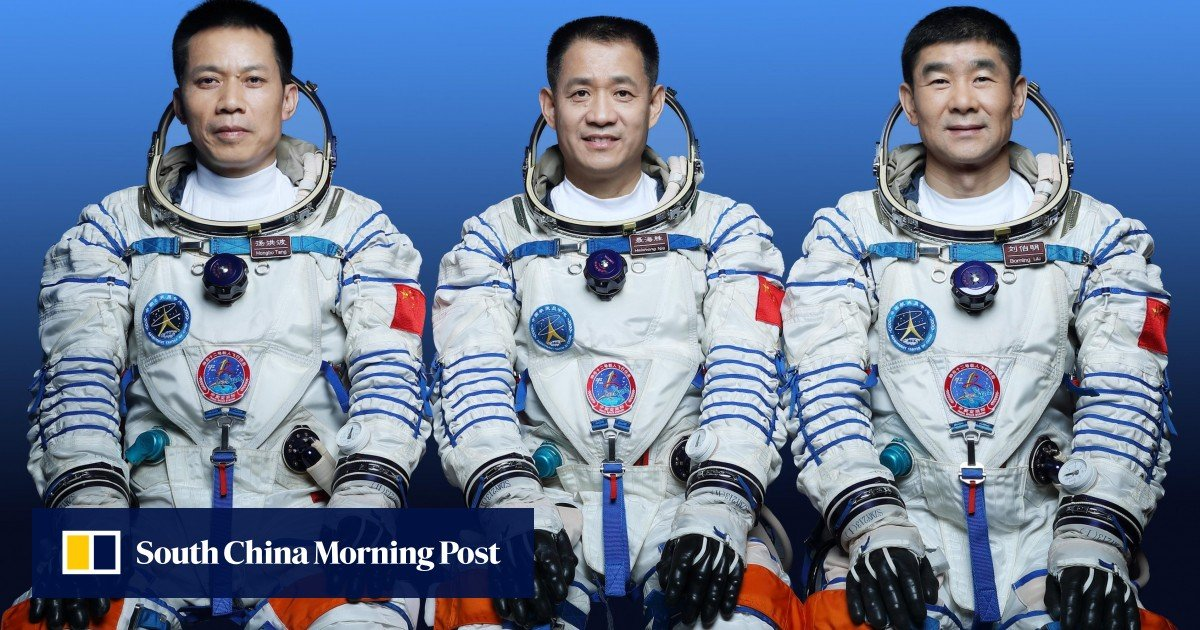 China appoints veterans to lead the crew of the first space station as launch preparations begin