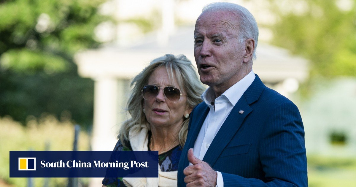 Joe and Jill Biden visit families of victims in Surfside, Florida