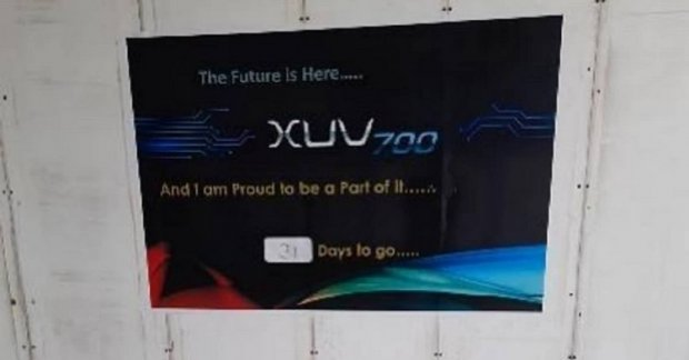 The upcoming Mahindra XUV700 production could begin next month
