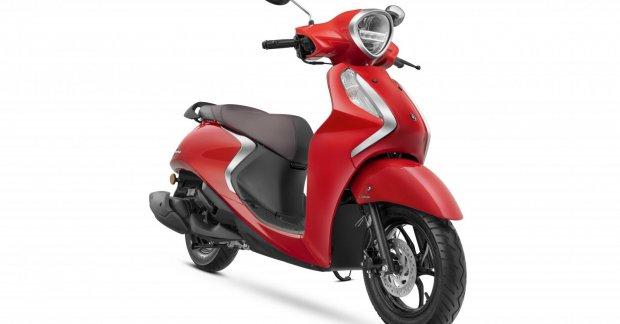 New Yamaha Fascino 125 Fi Hybrid Cheer as Honda Activa 125