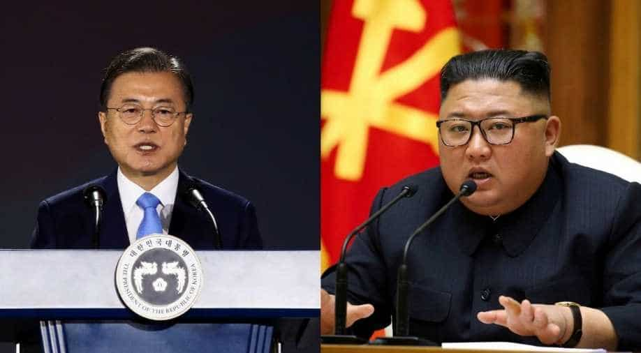 South and North Korea have reestablished an interrupted hotline: Blue House