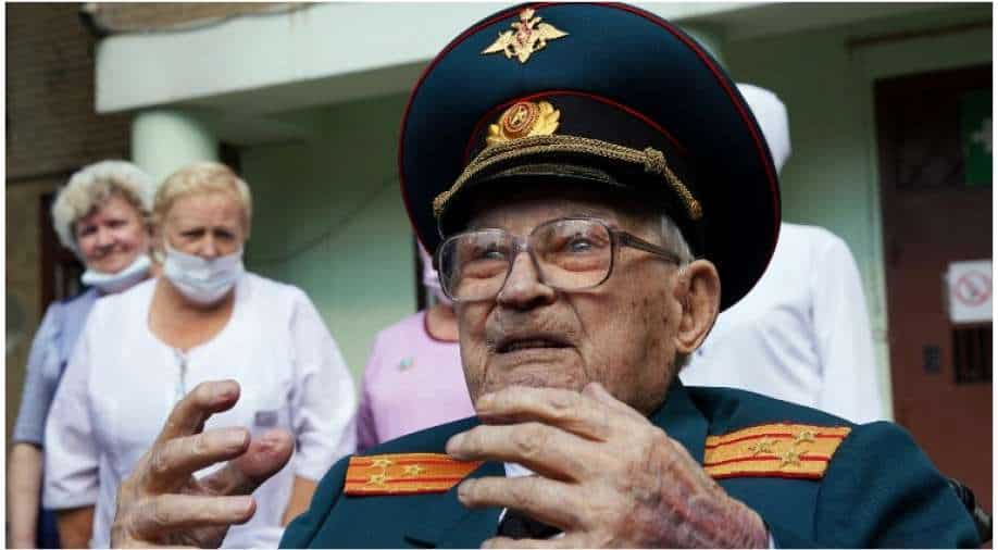 Reborn at age 102: Russian WWII veteran defeats Covid after months in hospital