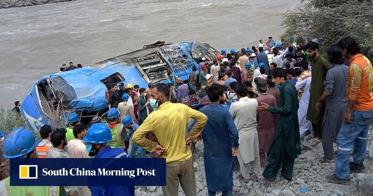 China asks for answers: was the bus explosion in Pakistan that killed 13 people a terrorist attack?