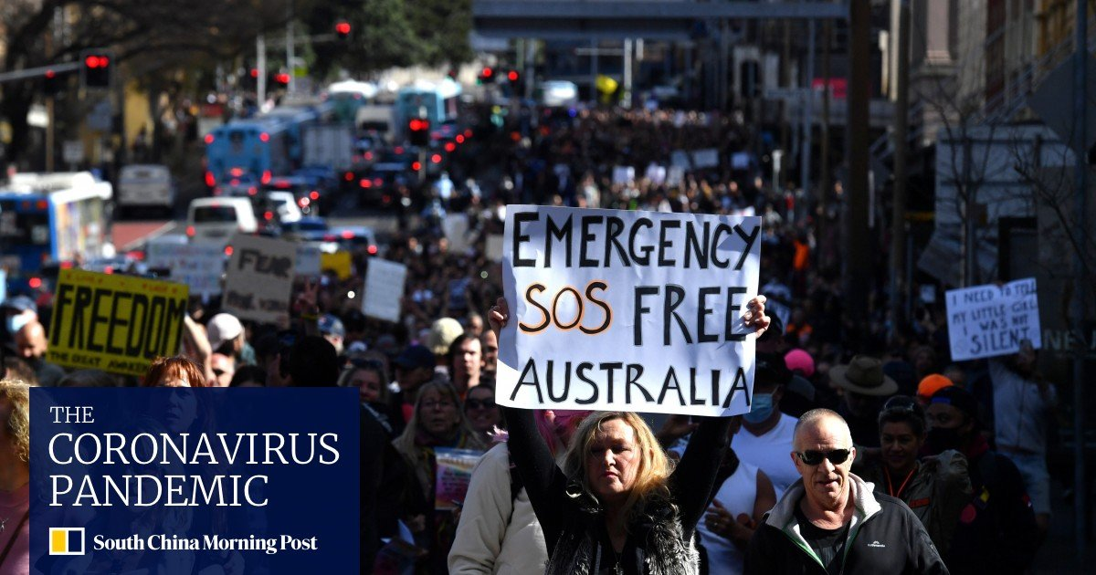 """Coronavirus: Australia could be banned longer after """"ruthless"""" protests"""