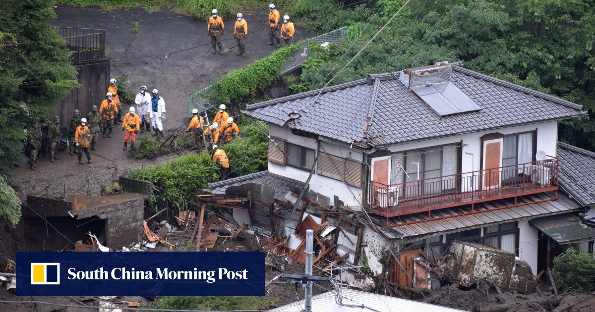 Rescuers search for survivors after deadly landslide in January