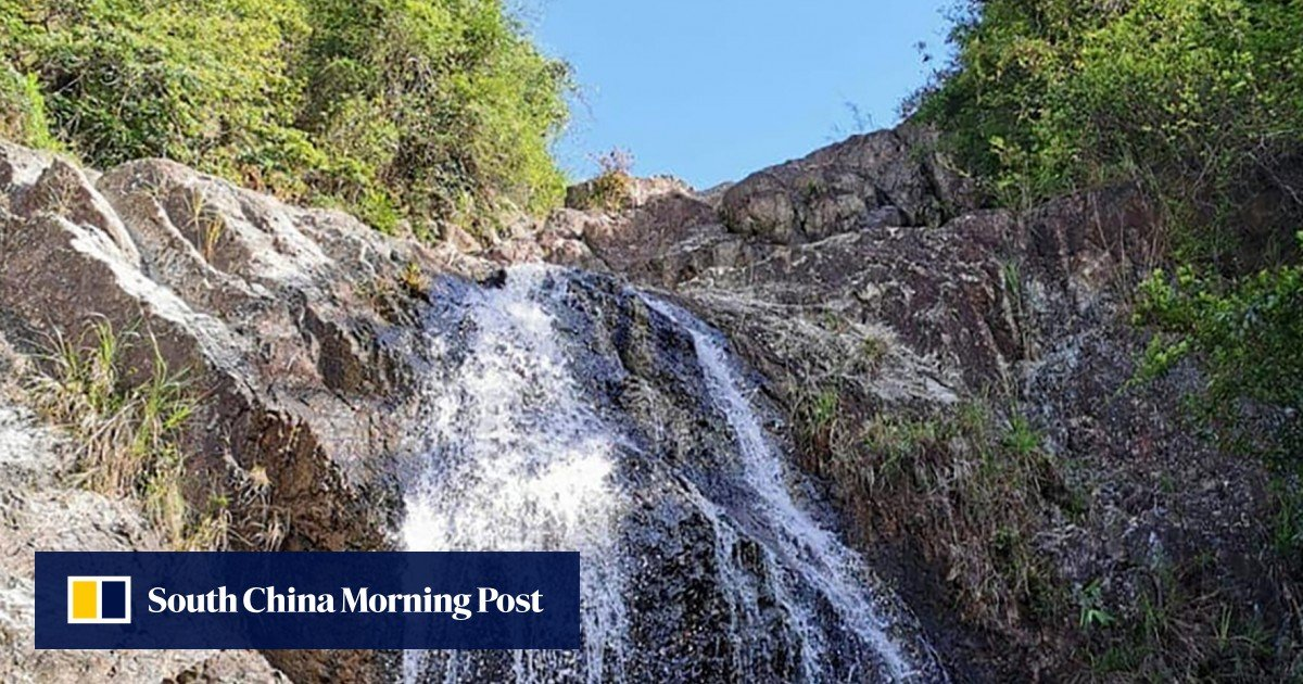 The 37-year-old Hong Kong woman injured her head after falling into a pool in Sai Kung East Country Park