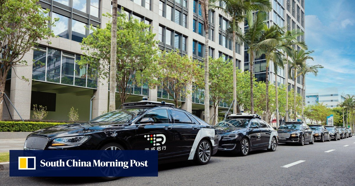 Shenzhen emerges as China's robotaxi capital when DeepRoute.ai opens public trials at the technology center