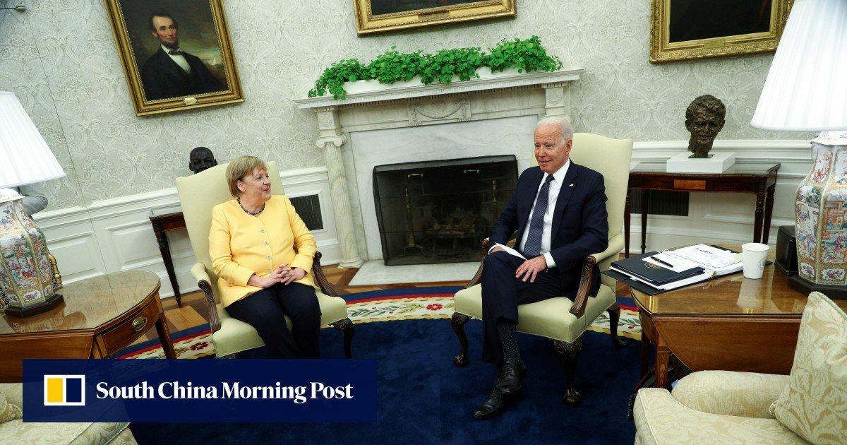 Washington says goodbye to Angela Merkel