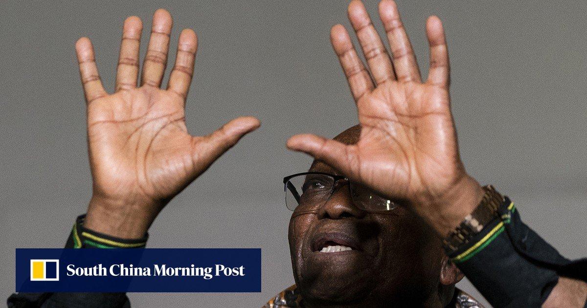 South Africa's ex-president Jacob Zuma in police custody