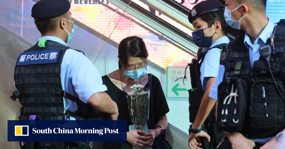 """Hong Kong Official No. 2 criticized """"Lodges"""" for stabbing a police officer on July 1, saying that those who downplayed terrorism have """"been sinners for 1,000 years."""""""