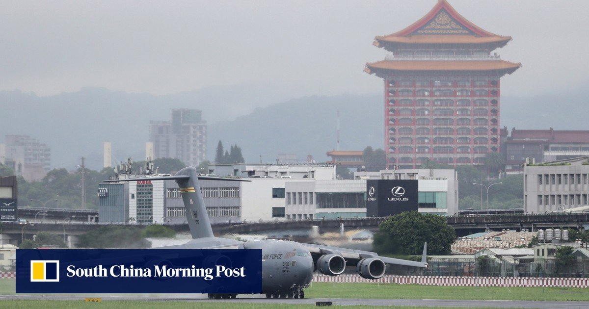 US military aircraft visits to Taiwan signal Beijing is adopting a new tactic, analysts say