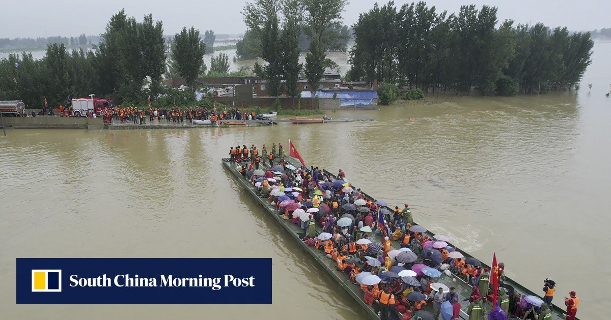 Floods in China: Torrential rains now hit more than 7.5 million people in Henan