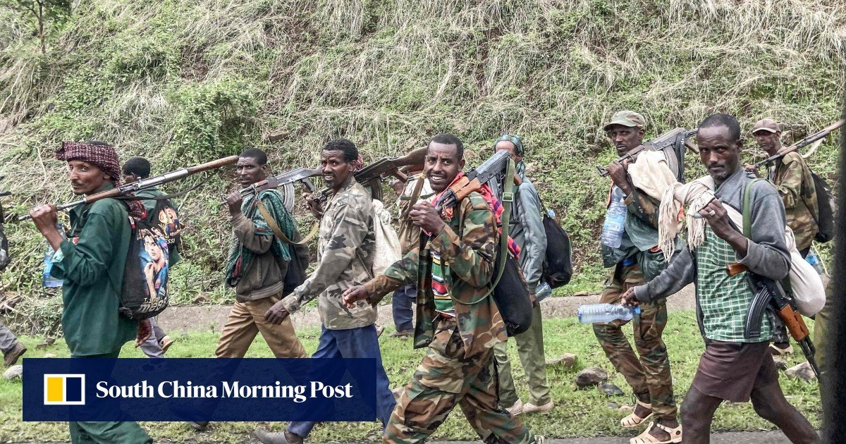 """The Ethiopian state of Amhara calls on """"all young people"""" to take up arms against the troops of Tigrayan"""