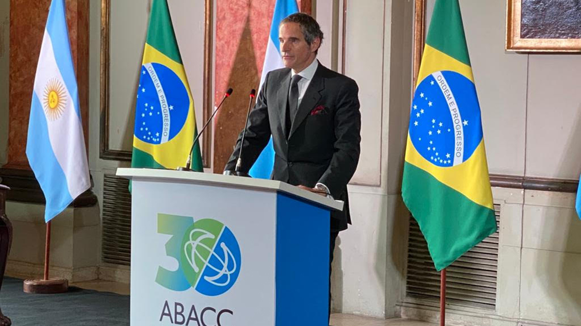 IAEA Director General highlights successes and sees developing security system for members of the Brazilian-Argentine Nuclear Verification Agency