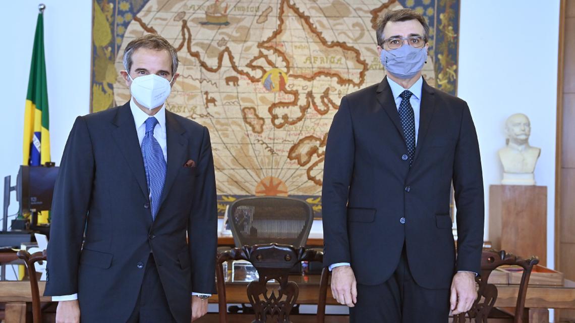 "IAEA Director General, Brazilian Ministers Discuss ""Rich Agenda"" of Cooperation"