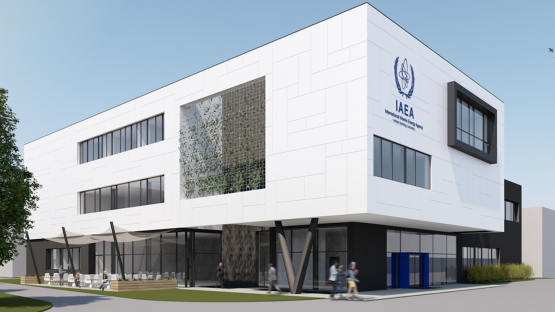 IAEA lays foundation stone for training center to combat nuclear terrorism