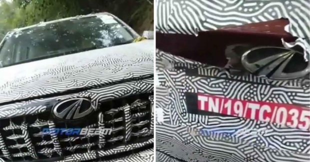 Mahindra XUV700 paint revealed by biker at Road Rage Incident – VIDEO