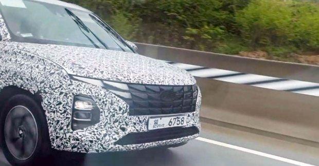 New Hyundai Creta front look revealed with new Spy Shot