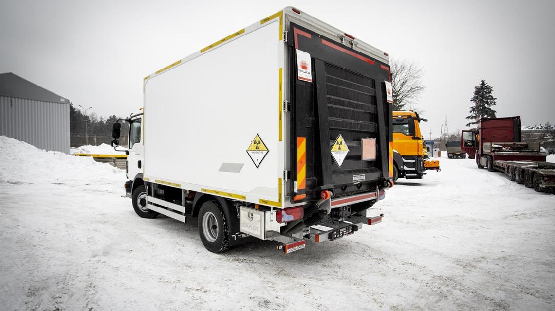 IAEA donates special vehicle to Moldova to strengthen road safety