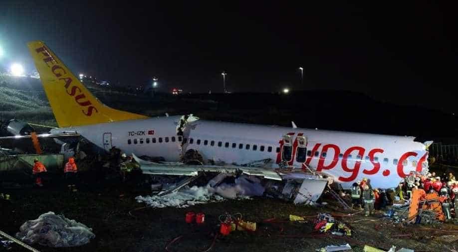 No survivors of Turkish fire-fighting plane crash as floods kill 55 people