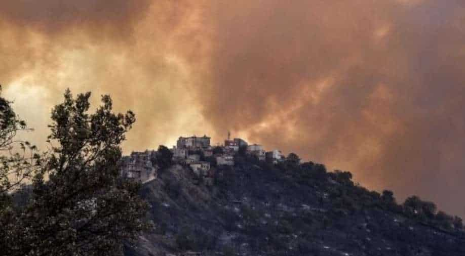 Firefighters in Algeria are still on duty to put out 19 fires