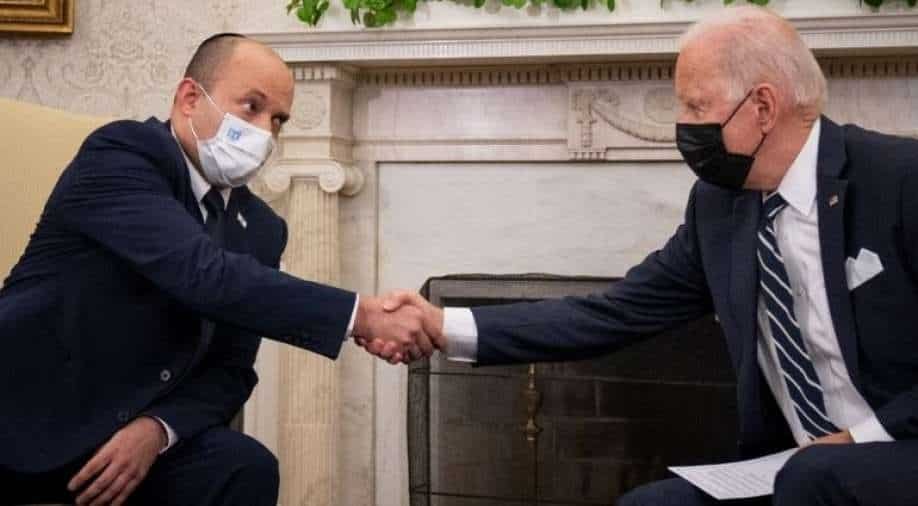 Biden meets Israeli Prime Minister in the shadow of the explosions in Kabul