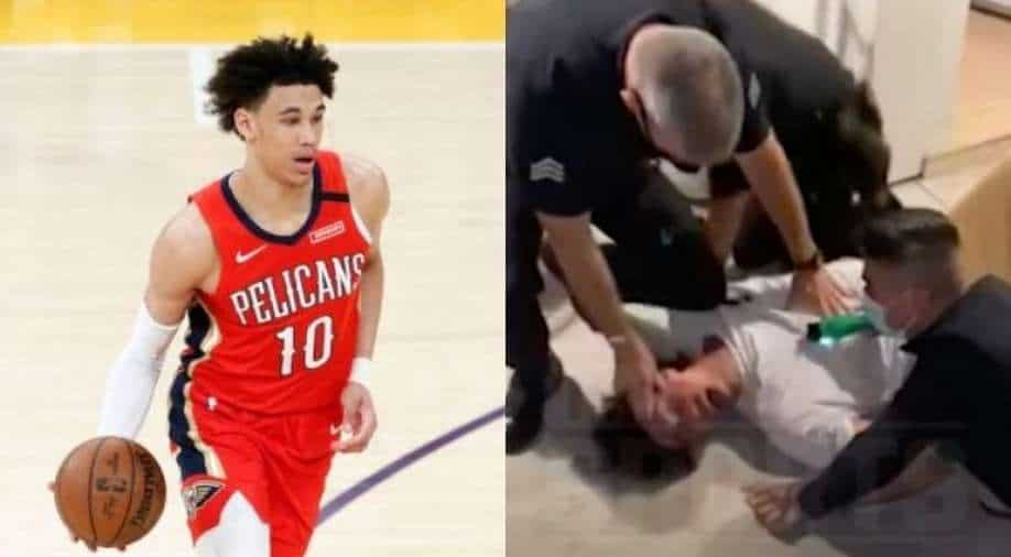"""""""I can't breathe"""": NBA player Jaxson Hayes was forcibly arrested and tased – WATCH"""